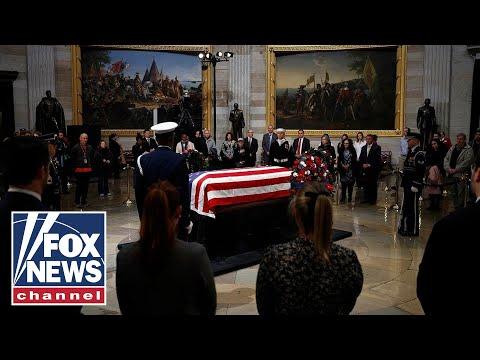 George H.W. Bush's U.S. Capitol departure ceremony