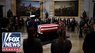 George H.W. Bush's U.S. Capitol departure ceremony