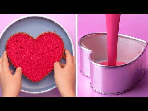 My Favorite Heart Cake Decorating Ideas | So Yummy Cake Decorating Tutorial | Tasty Plus Cake