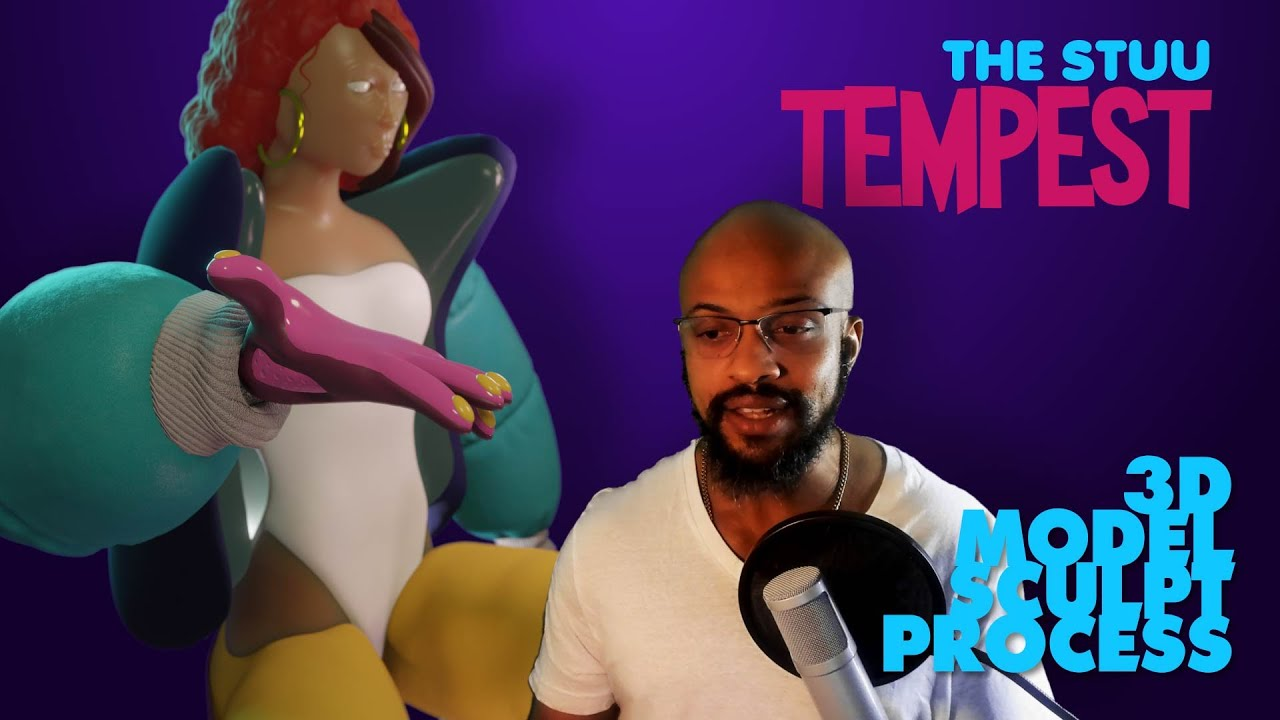 TEMPEST.  3D Sculpt Talk-Through