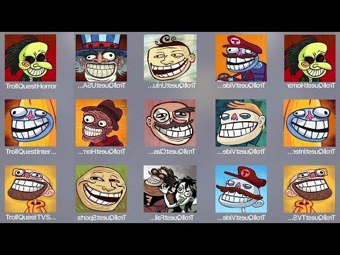Troll Quest Horror,Troll Video,Troll Unlucky,Troll USA,Troll Internet,Troll Meme,Troll Classic