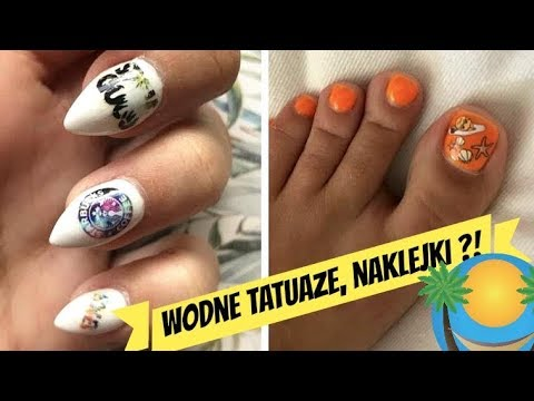 Wodne Tatuaże Naklejki Do Letnich Zdobień Paznokci Thekretka1