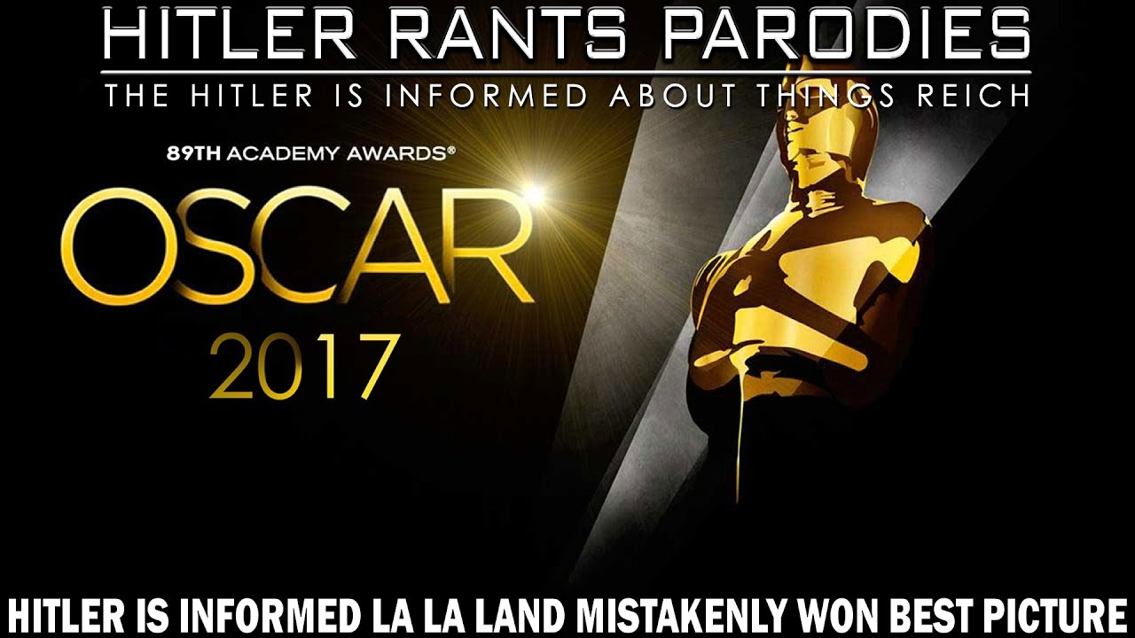 Hitler is informed La La Land mistakenly won Best Picture