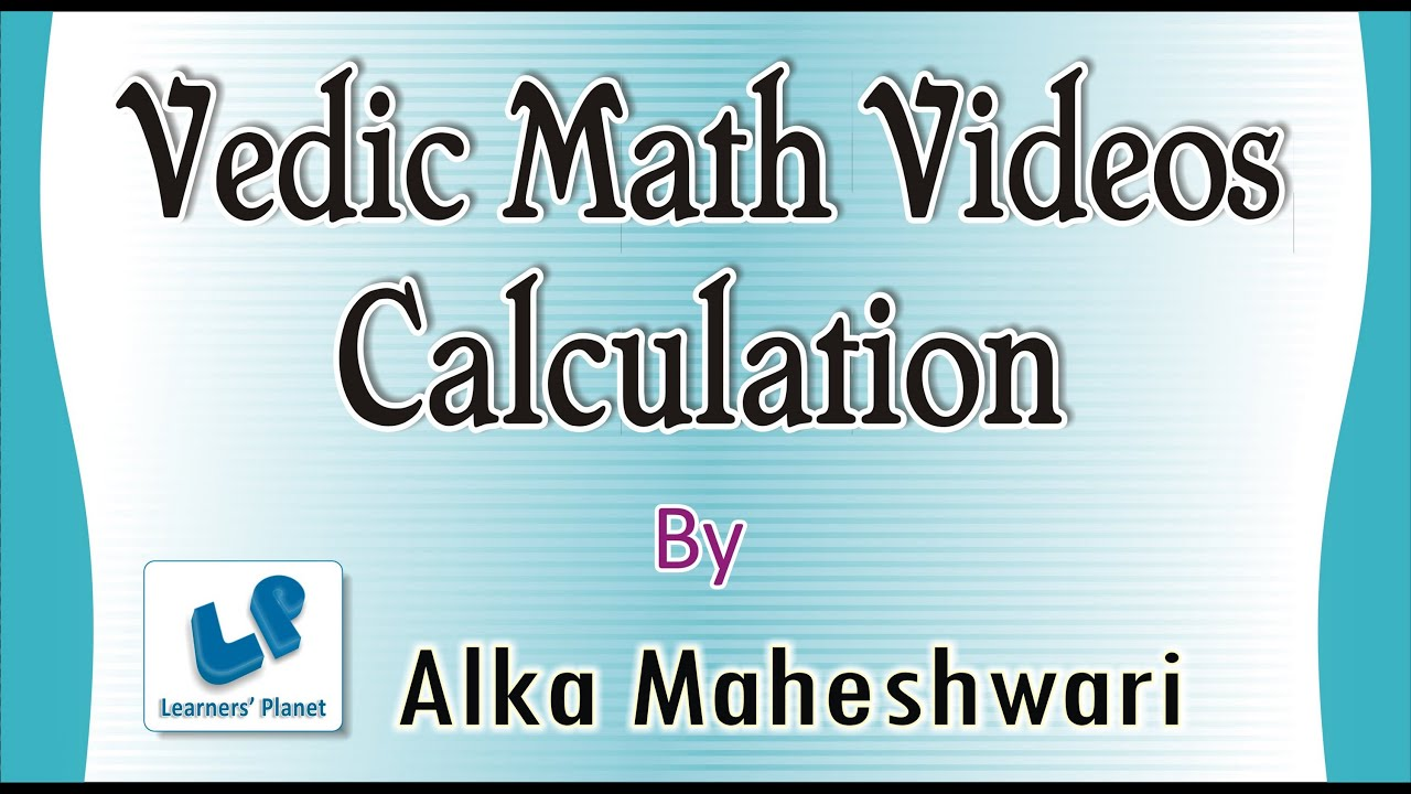 Calculation short tricks Vedic Math videos -Fast maths trick - Find ...