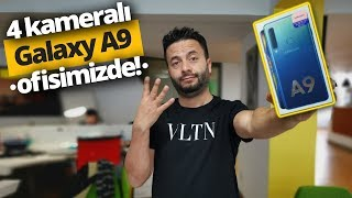 4 Kameralı Galaxy A9 Kutudan Çıkıyor - Tek kameralı Pixel 2 XL ile karşılaştırdık!
