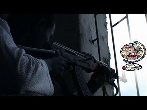 Liberia's Civil War Frontline (2003) | Footage