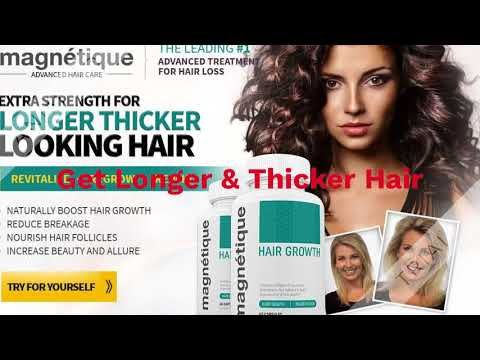 Magnetique Hair Growth Review -  Thin And Bald Hair Growth Challenge for Women