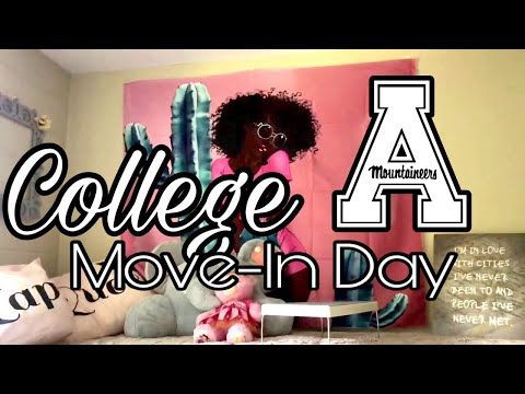 COLLEGE MOVE-IN DAY 2018 | Appalachian State University