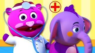 The Doctor Checkup Song + More Nursery Rhymes & Kids Songs - All Babies Channel