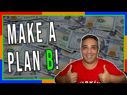 Always Have A Plan B For Business