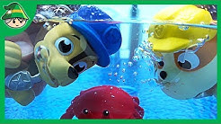 Paw Patrol swimming pool bath toys. Tube Play Water Play Color Play for Children