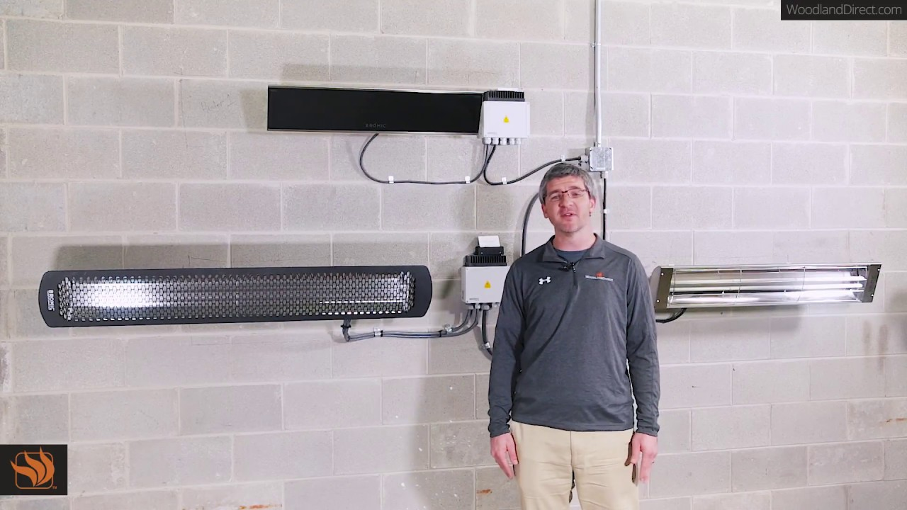Bromic Tungsten Smart Heat 6000 Watt Electric Heater Youtube