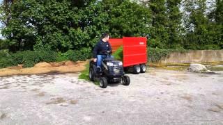 Rideon Mower Trailer Silage 2