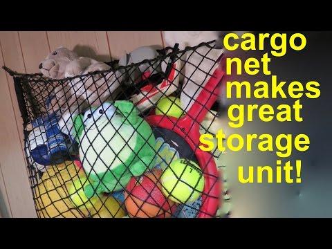 Simple Toy Storage  ● using a Car Net