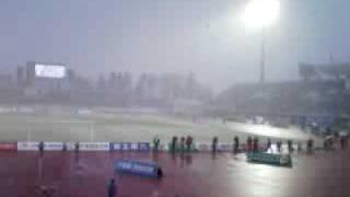 2009年3月14日 モンテディオ山形ホーム開幕戦。モンテディオ山形vs名古...
