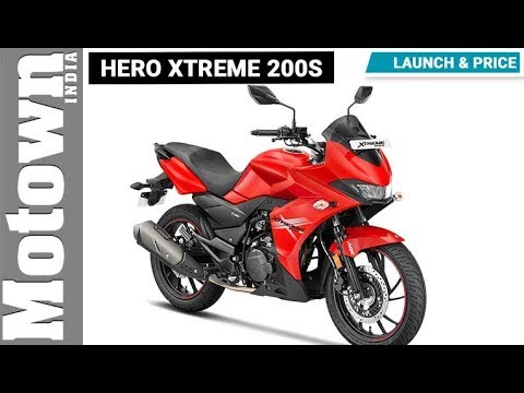 Hero Xtreme 200S | Launch & Price | Motown India