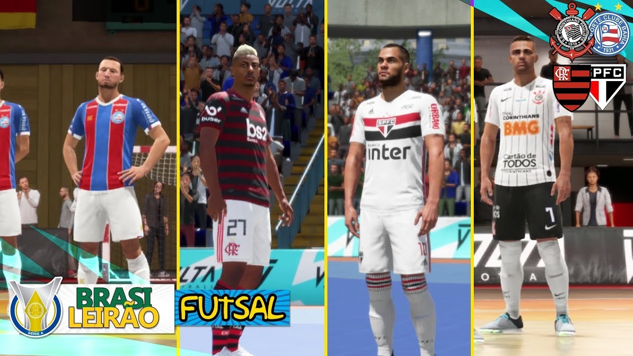 O FINAL INCRÍVEL DO BRASILEIRÃO DE FUTSAL!! | FIFA 20
