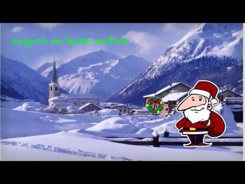 Frasi Auguri Di Natale In Spagnolo.Auguri Di Natale Lingua Spagnola Youtube