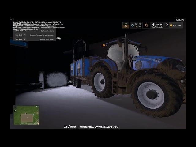 Kalk aus dem Berg | Folge #216 | Let's Play Landwirtschafts Simulator 2017