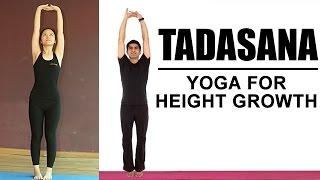 Video Yoga For Height Growth | Tadasana Yoga download MP3, 3GP, MP4, WEBM, AVI, FLV Juni 2018