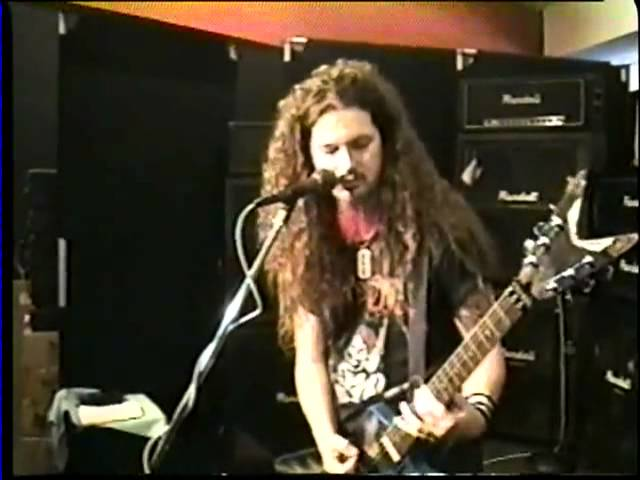 Dimebag Darrell Hosts Clinic and Q&A Session in 1993 | VIDEO