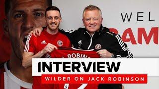 Chris Wilder on Jack Robinson | Sheffield United interview