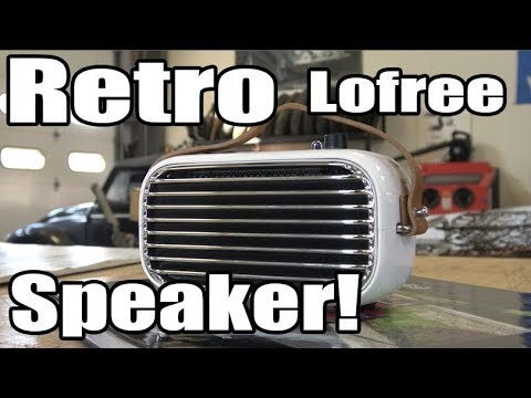 Classic VW BuGs Vintage Car Retro Lofree Poison Bluetooth Speaker Review