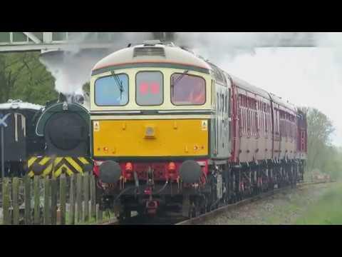 London Transport diesel tour at Bucks Rail Centre + naming 20227