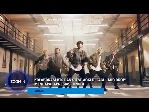"""Kolaborasi BTS dan Steve Aoki di Lagu """"Mic Drop"""" Mendapat Apresiasi Tinggi Mp3"""
