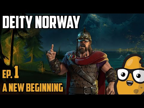 A New Beginning - Civ 6 Let's Play Ep. 1 Deity Norway