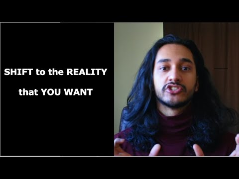 Parallel realities: SHIFT to your desired reality (easy technique)