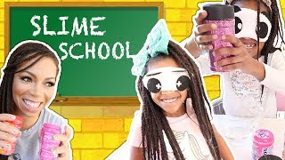 Slime teacher mss craycray, gives the students a blindfolded test. however, she decides to cheat and prank silly with funny ingredients. s...