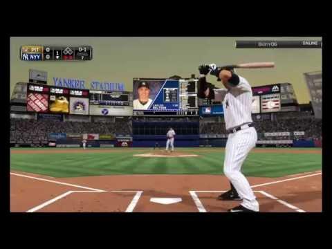 MLB 15 The Show, Pirates @ Yankees