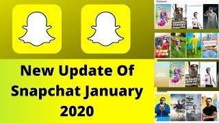 New Bitmoji Filters New Update Of Snapchat January 2020