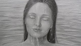 How to Draw Water Drops on a Face