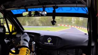 One lap with Rob Huff at the Nurburgring Nordschleife