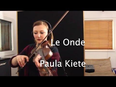 Le Onde By Ludovico Einaudi (violin Version By Paula Kiete)