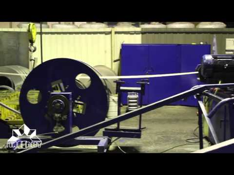 Производство круглых воздуховодов из оцинкованной стали