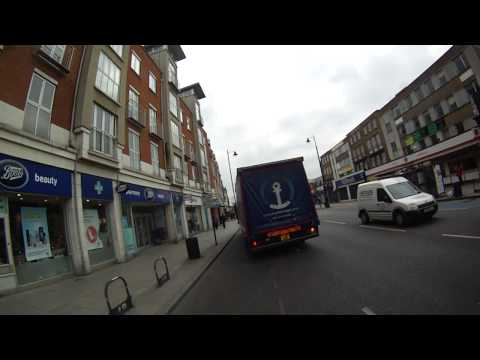 Kuehne + Nagel FK61 BBK, swerves into CS7 without indicating, driving while drinking Red Bull