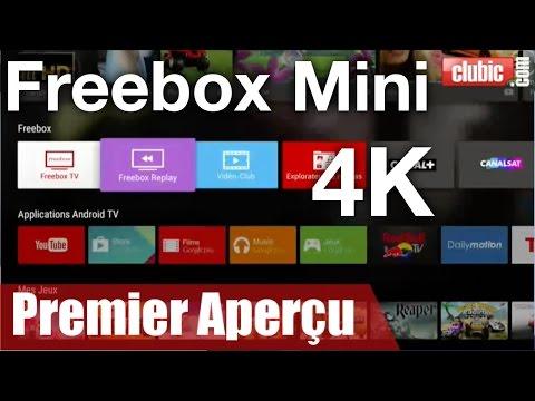 Freebox Mini 4K : découvrez son interface Android TV en vidéo