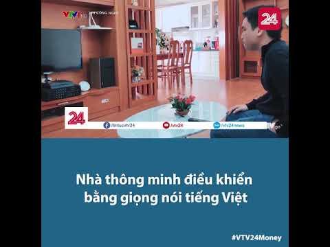 Nhà thông minh JAVIS trên VTV1 - Nhà thông minh điều khiển bằng tiếng Việt