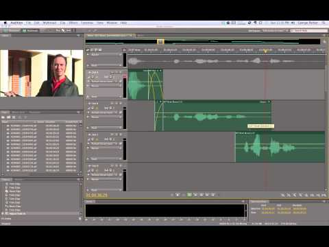 Audio post-production: Dialog Editing Basics (Step 6)