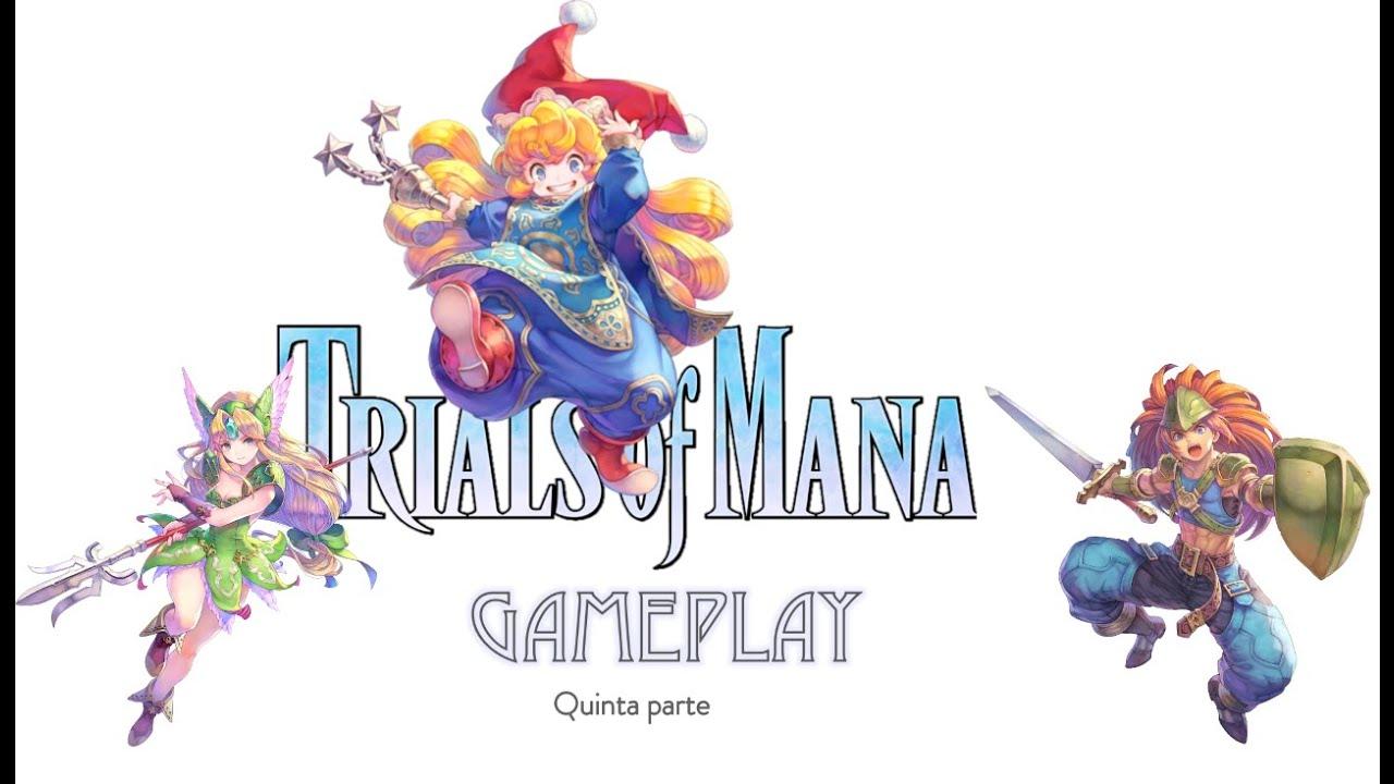 Jugamos al Trials of Mana un juegazo de rol de square enix para Nintendo Switch parte 5 de la serie