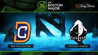 The Boston Major 2016 : Digital Chaos vs Team Faceless - SZD [Thai Caster]