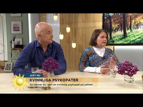 S knner du igen en kvinnlig psykopat - Nyhetsmorgon (TV4)