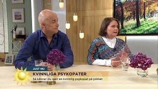 Så känner du igen en kvinnlig psykopat - Nyhetsmorgon (TV4)