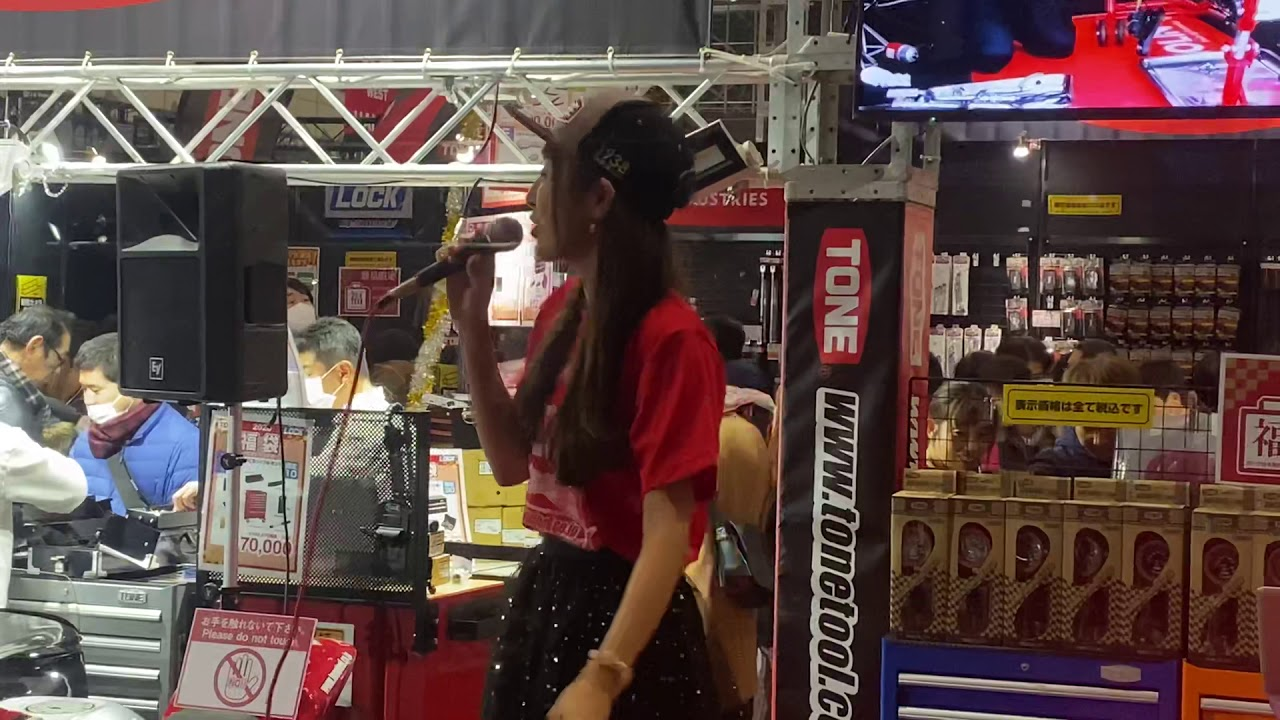 東京オートサロン2020   ROCKブースミニライブ