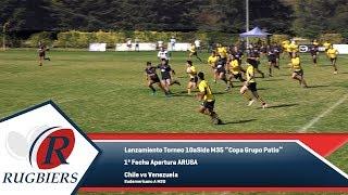 Rugbiers TV - 1ª Fecha Apertura ARUSA - Chile vs Venezuela M20