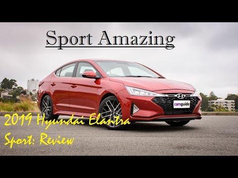 2019 Hyundai Elantra Sport Review - Sport Amazing