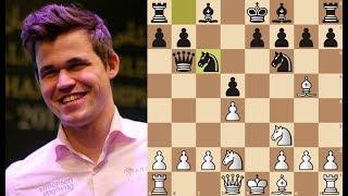 Коварная комбинация Магнуса Карлсена! Атака Тромповского! Grand Chess Tour 2019.Шахматы.
